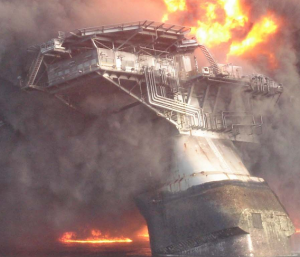 Deepwater Horizon Oil Rig Lists and Sinks