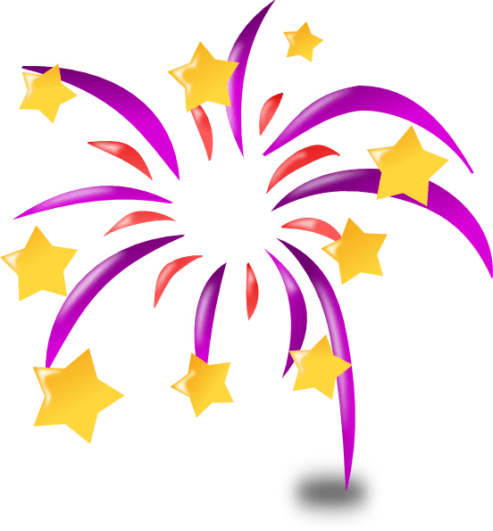 Fireworks for the new year