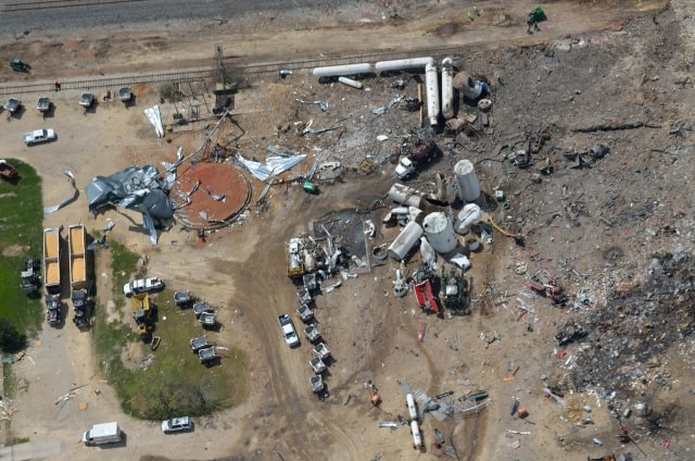 West Fertilizer Corporation Texas Explosion