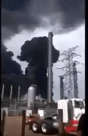 Pemex Veracruz Mexico Explosion