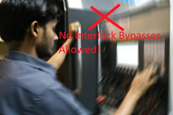 Machine Safety Bypass Interlock