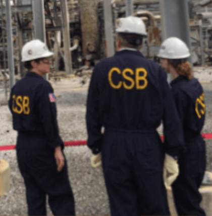 CSB Investigation